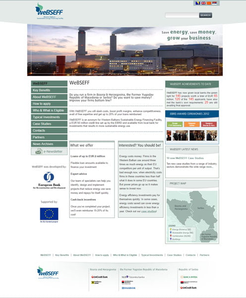Western Balkans Sustainable Energy Financing Facility